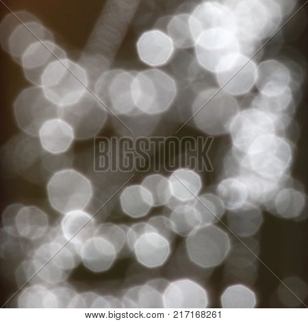Abstract background - blurry brilliant shining sparkle