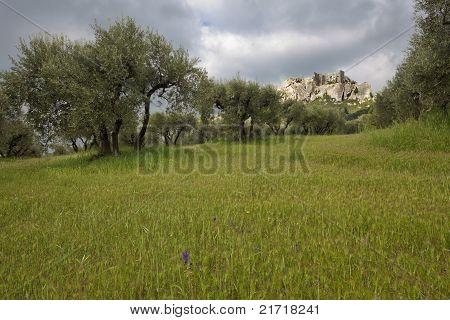 Les Baux De Provence.
