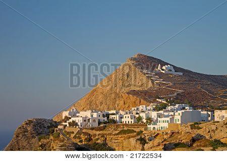 Chora Town, Folegandros Island