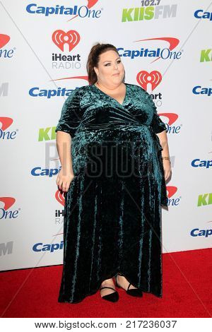 LOS ANGELES - DEC 2:  Chrissy Metz at the Jingle Ball 2017 at the Forum on December 2, 2017 in Inglewood, CA
