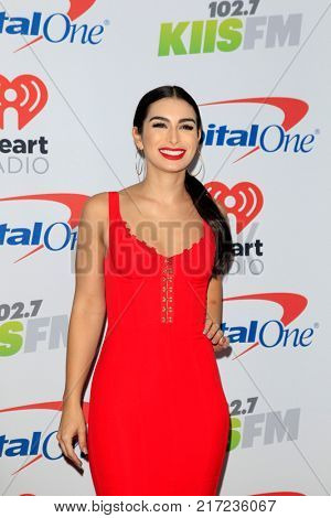 LOS ANGELES - DEC 2:  Ashley Iaconetti at the Jingle Ball 2017 at the Forum on December 2, 2017 in Inglewood, CA