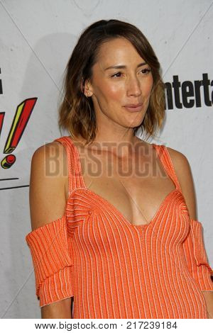 SAN DIEGO - July 22:  Bree Turner at the Entertainment Weekly's Annual Comic-Con Party 2017 at the Float at Hard Rock Hotel San Diego on July 22, 2017 in San Diego, CA