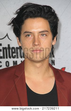 SAN DIEGO - July 22:  Cole Sprouse at the Entertainment Weekly's Annual Comic-Con Party 2017 at the Float at Hard Rock Hotel San Diego on July 22, 2017 in San Diego, CA