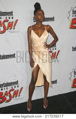 SAN DIEGO - July 22:  Ashleigh Murray at the Entertainment Weekly's Annual Comic-Con Party 2017 at the Float at Hard Rock Hotel San Diego on July 22, 2017 in San Diego, CA