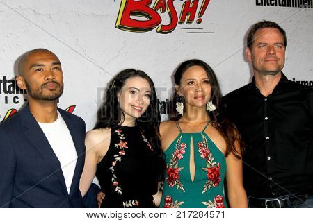 SAN DIEGO - July 22:  Dark Matter Cast at the Entertainment Weekly's Annual Comic-Con Party 2017 at the Float at Hard Rock Hotel San Diego on July 22, 2017 in San Diego, CA