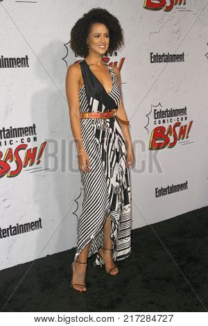 SAN DIEGO - July 22:   Nathalie Emmanuel  at the Entertainment Weekly's Annual Comic-Con Party 2017 at the Float at Hard Rock Hotel San Diego on July 22, 2017 in San Diego, CA