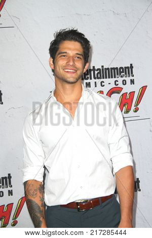 SAN DIEGO - July 22:  Tyler Posey at the Entertainment Weekly's Annual Comic-Con Party 2017 at the Float at Hard Rock Hotel San Diego on July 22, 2017 in San Diego, CA