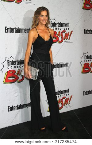 SAN DIEGO - July 22:  Tricia Helfer at the Entertainment Weekly's Annual Comic-Con Party 2017 at the Float at Hard Rock Hotel San Diego on July 22, 2017 in San Diego, CA