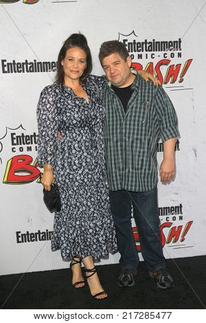 SAN DIEGO - July 22:  Patton Oswalt, Meredith Salenger at the Entertainment Weekly's Annual Comic-Con Party 2017 at the Float at Hard Rock Hotel San Diego on July 22, 2017 in San Diego, CA