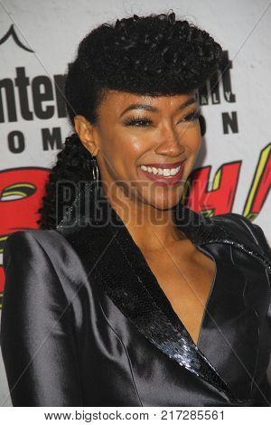 SAN DIEGO - July 22:  Sonequa Martin-Green at the Entertainment Weekly's Annual Comic-Con Party 2017 at the Float at Hard Rock Hotel San Diego on July 22, 2017 in San Diego, CA