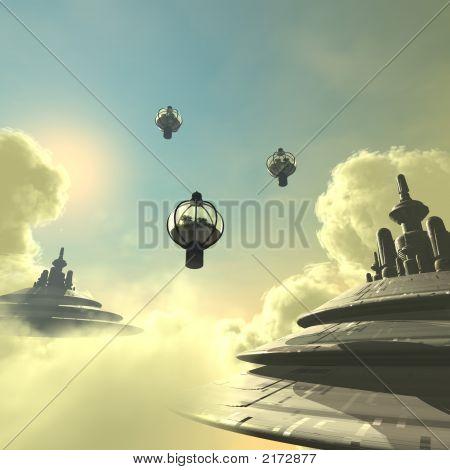 Sky City #01