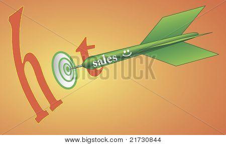 Hot Sales On Target.