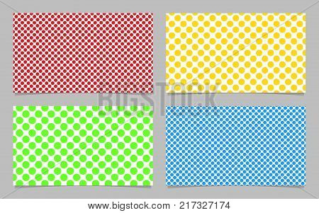 Abstract dot pattern vector photo free trial bigstock abstract dot pattern business card background template design set vector id card illustration with colored colourmoves