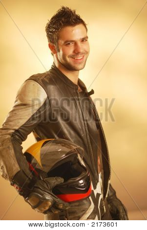 A Man In Coverall