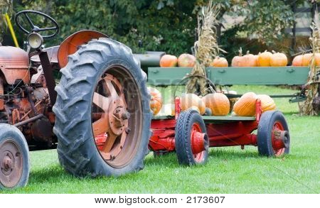 Harvest Tractor