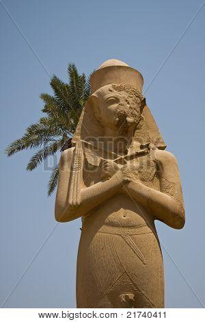 Statue of Ramses II in Karnak temple, Egypt