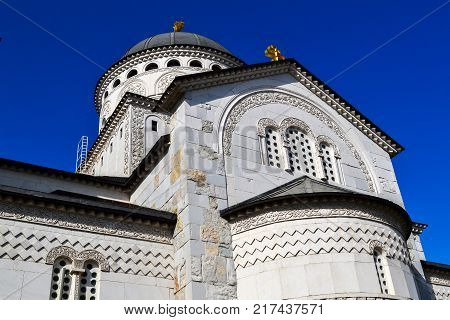 Cathedral of the Resurrection of Christ in Podgorica Montenegro