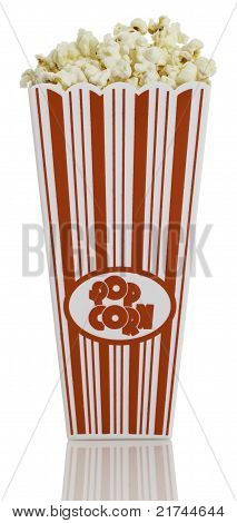 Fron view of Popcorn Box