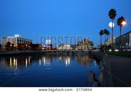City Skyline Reflection