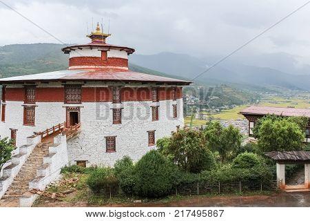 Taa Dzong, National Museum, Paro, Bhutan, Asia