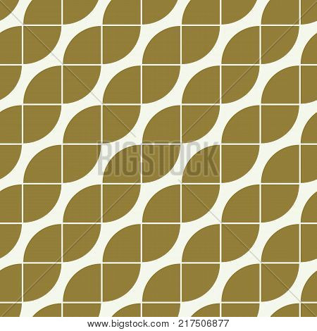 Vector ornamental continuous background made using undulate diagonal lines. Bright composition can be used as pattern.