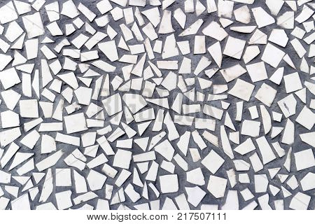 Beige Stone Tiles Irregular Beige Shape background.