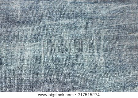 Natural background jeans texture in horizontal position