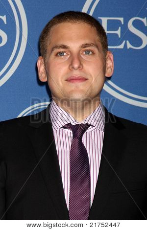 LOS ANGELES - JUL 13:  Jonah Hill in the Press Room of the 2011 ESPY Awards at Nokia Theater at LA Live on July 13, 2011 in Los Angeles, CA