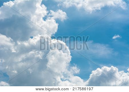The atmosphere great beauty sky as a background