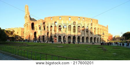 Colosseum It is a great stadium in the world.