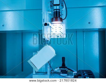 Robotic vision sensor camera system in phone factory