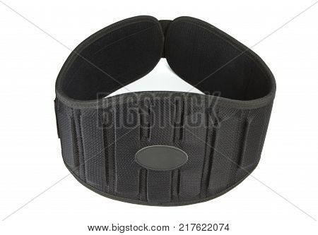 Sports equipment athletic belt weight lifting belt black belt