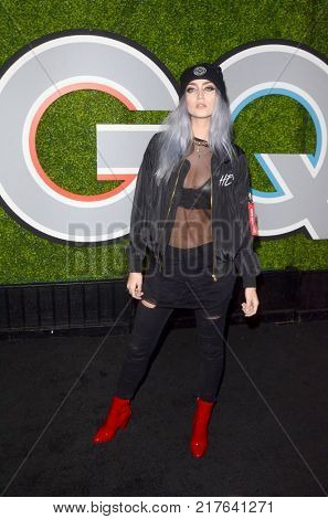LOS ANGELES - DEC 7:   Nicolina at the 2017 GQ Men of the Year at the Chateau Marmont on December 7, 2017 in West Hollywood, CA