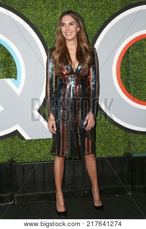 LOS ANGELES - DEC 7:  Elizabeth Chambers at the 2017 GQ Men of the Year at the Chateau Marmont on December 7, 2017 in West Hollywood, CA