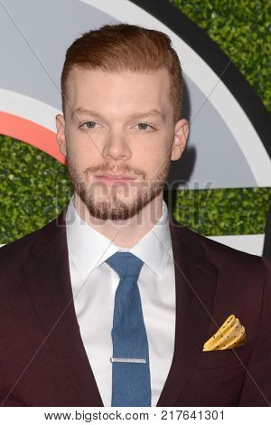 LOS ANGELES - DEC 7:  Cameron Monaghan at the 2017 GQ Men of the Year at the Chateau Marmont on December 7, 2017 in West Hollywood, CA