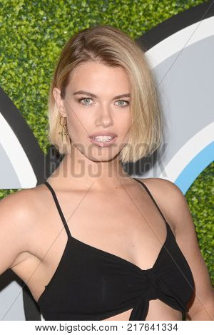 LOS ANGELES - DEC 7:  Hailey Clauson at the 2017 GQ Men of the Year at the Chateau Marmont on December 7, 2017 in West Hollywood, CA