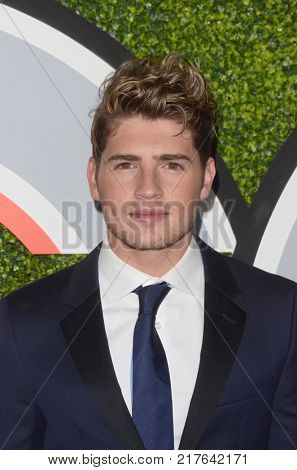 LOS ANGELES - DEC 7:  Gregg Sulkin at the 2017 GQ Men of the Year at the Chateau Marmont on December 7, 2017 in West Hollywood, CA