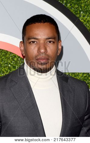 LOS ANGELES - DEC 7:  Laz Alonso at the 2017 GQ Men of the Year at the Chateau Marmont on December 7, 2017 in West Hollywood, CA
