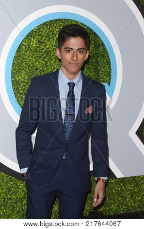 LOS ANGELES - DEC 7:  Karan Brar at the 2017 GQ Men of the Year at the Chateau Marmont on December 7, 2017 in West Hollywood, CA