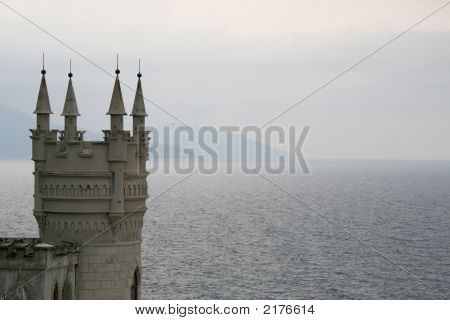 Castle On The Sea Coast