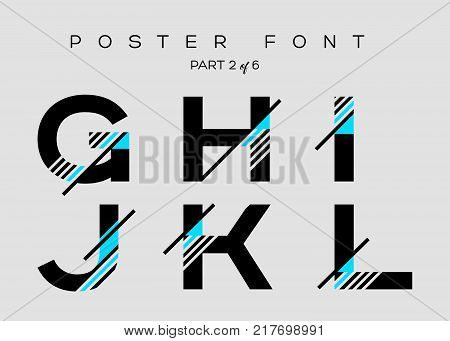 Vector Techno Font with Digital Glitch Text Effect. Minimal Geometric Typography for Logo Design Music Poster Fashion Show Advertising. Modern Cyber Type in Futuristic Style. Trendy Urban Typeset.