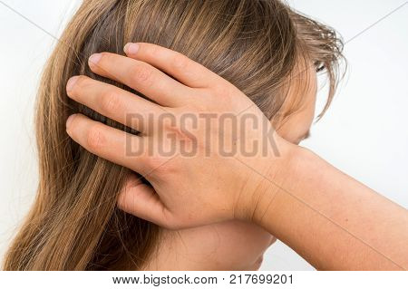 Woman With Wrist Pain Is Holding Her Aching Hand