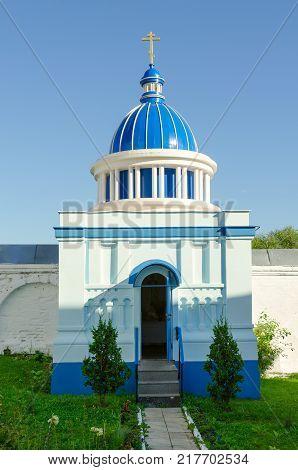 Chapel in Holy Bogolyubsky Monastery village Bogolubovo Vladimir Region Golden Ring of Russia