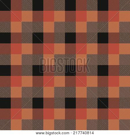 Tartan Seamless Pattern Background. Autumn color panel Plaid, Tartan Flannel Shirt Patterns. Trendy Tiles Vector Illustration for Wallpapers