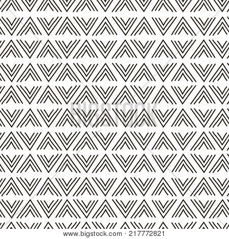 Modern stylish nook, corner texture with monochrome trellis. Repeating geometric grid. Bends, doodles and tittles. Vector seamless pattern. Simple graphic design. Trendy geometry. Abstract design