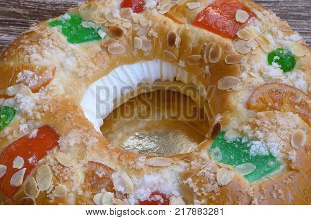 Roscon De Reyes To Celebrate Epiphany