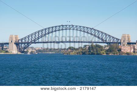Sydney Harbour Bridge On A Blue Day