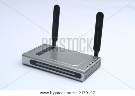 Wireless Modem & Router - Front View