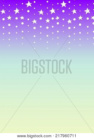 falling star background, twinkle dot abstract wallpaper, star line template, vector illustration
