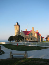 Old Mackinaw Point Light House